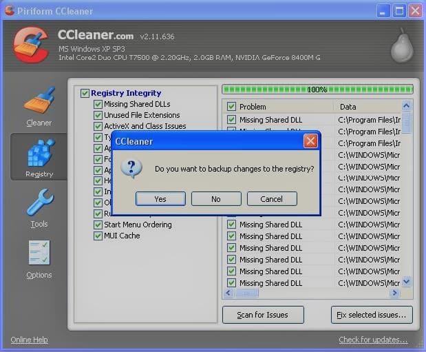 Ccleaner windows xp бесплатно