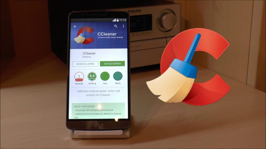 Cкачать CCleaner для Андроид (Android) бесплатно